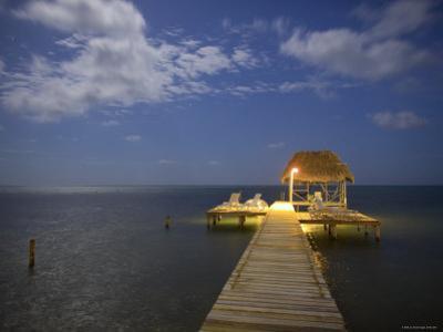 Pier, Caye Caulker, Belize