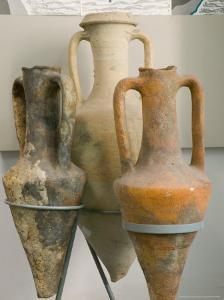 Pottery at the Naval History Museum, Constanta, Romania by Russell Young