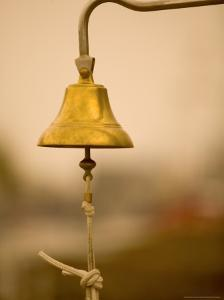 Ship's Bell, Warnemunde, Germany by Russell Young