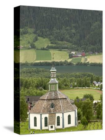 Sofar Fron Octagonal Stone Church, Laggen River Valley, Ringebu, Norway