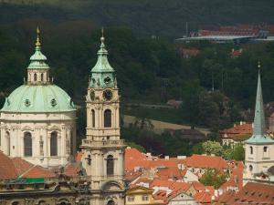 St. Nicholas's Church, Prague, Czech Republic by Russell Young
