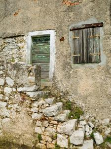 Stone House, Cres, Croatia by Russell Young