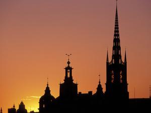 Sunset, Stockholm, Sweden by Russell Young