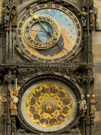 The Astronomical Clock, Prague, Czech Republic