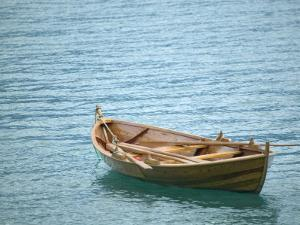 Traditional Lapstrake Rowboat, Sognefjord, Norway by Russell Young