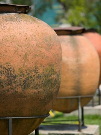 Urns in Archeological Park, Constanta, Romania