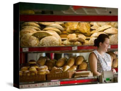Woman in Bakery, Trogir, Croatia