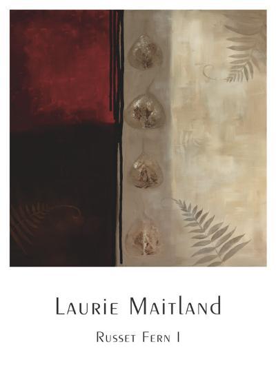 Russet Fern I-Laurie Maitland-Art Print