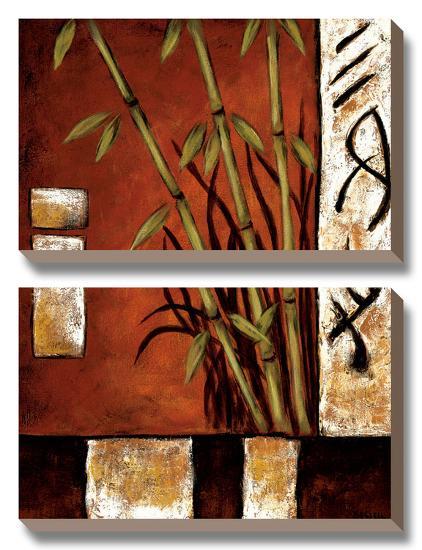 Russet Silhouette I-Krista Sewell-Canvas Art Set