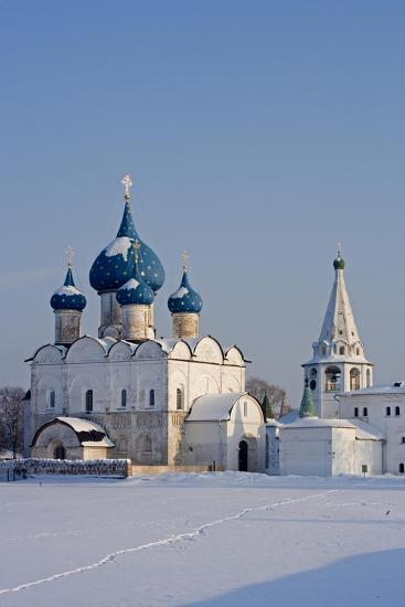 Russia, Golden Ring, Sudzal, Cathedral of Nativity of Virgin--Giclee Print