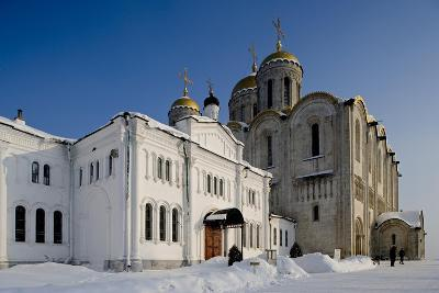 Russia, Golden Ring, Vladimir, Assumption Cathedral--Giclee Print