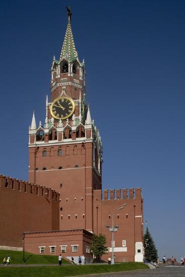 Russia, Moscow, Fortified Citadel and Saviour's Tower--Giclee Print