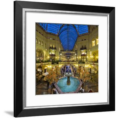 Russia, Moscow, Red Square, Gum Department Store, Interior-Gavin Hellier-Framed Photographic Print