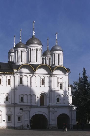 Russia, Moscow Region, Moscow, Kremlin, Cathedral of Assumption--Giclee Print