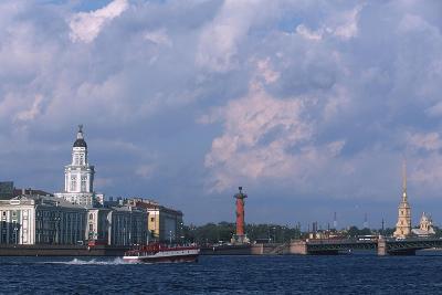Russia, Saint Petersburg, Historic Centre, Vasilievsky Island--Giclee Print