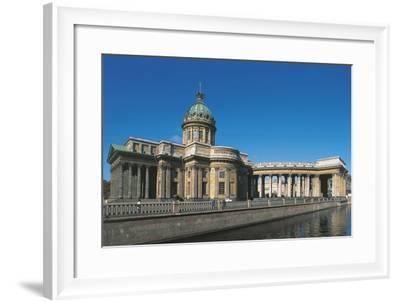 Russia, Saint Petersburg, Kazan Cathedral--Framed Giclee Print
