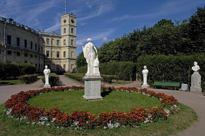 Russia, Saint Petersburg Surroundings, Gatchina, Gatchina Palace and Park--Giclee Print