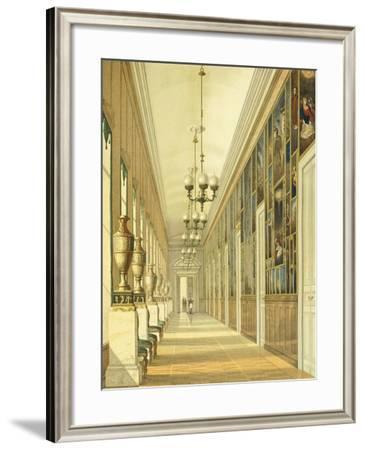 Russia, St Petersburg, the Winter Palace, the Picture Gallery--Framed Giclee Print