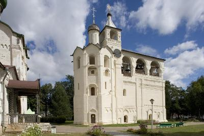 Russia, Suzdal, Gabled Belfry--Giclee Print