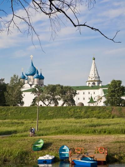 Russia, the Golden Ring, Suzdal, the Kremlin, Cathedral of the Nativity of the Virgin-Jane Sweeney-Photographic Print