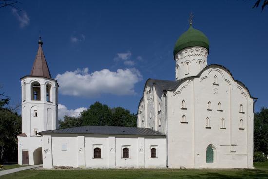 Russia, Veliky Novgorod, Saint Theodore's Church Exterior--Giclee Print