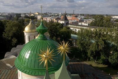 Russia, Yaroslavl, Cathedral at Monastery of Transfiguration of Savior--Giclee Print