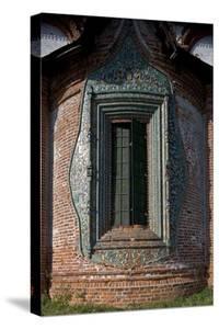 Russia, Yaroslavl, Historical Centre of City of Yaroslavl, Church of St. John Chrysostom, Window