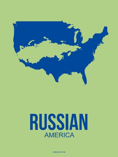 Russian America Poster 3-NaxArt-Art Print
