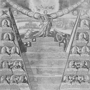 Apotheosis of Peter the Great (Engraving) by Russian