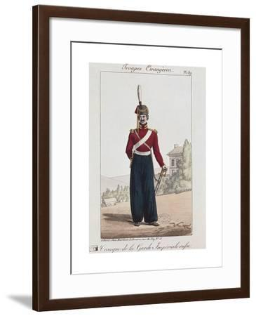 Russian Army Uniforms: Cossack of the Imperial Guard--Framed Giclee Print
