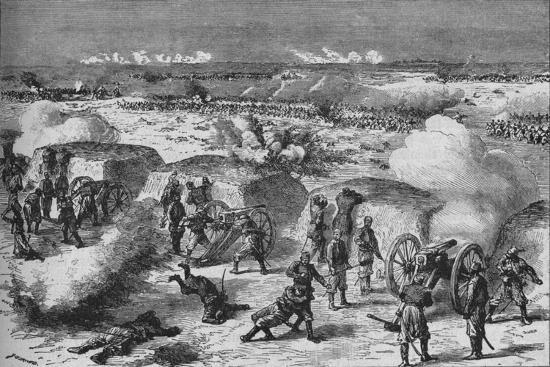 'Russian Attack Upon A Turkish Redoubt', 1902-Unknown-Giclee Print