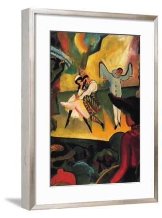 Russian Ballet-Auguste Macke-Framed Art Print