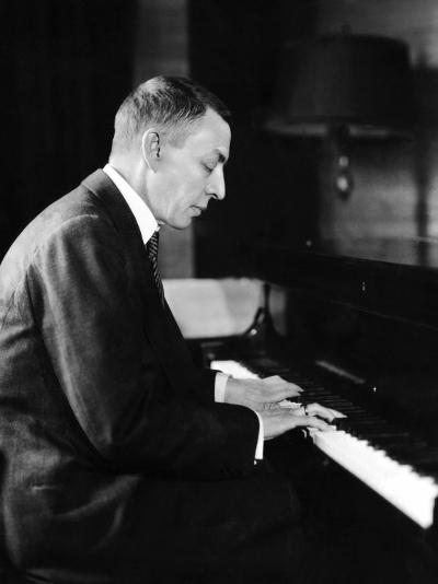 Russian Composer and Pianist Sergei Rachmaninoff, 1931--Photo