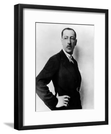 Russian Composer Igor Stravinsky, 1936