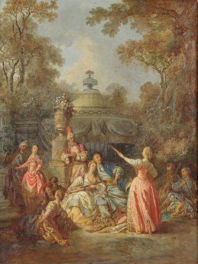 Russian Concert, 1770-Jean Baptiste Leprince-Giclee Print