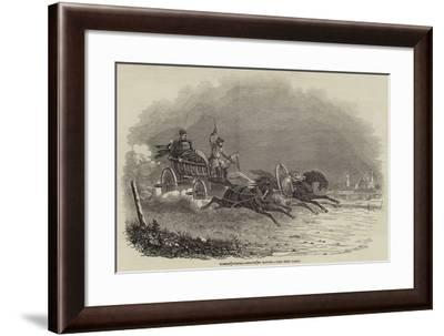 Russian Courier--Framed Giclee Print