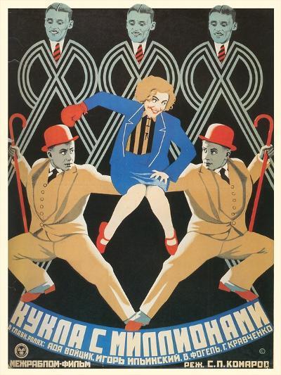 Russian Dancers Film Poster--Art Print