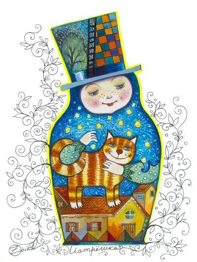 Russian Doll-Oxana Zaika-Giclee Print