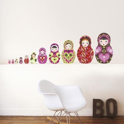 Russian Dolls--Wall Decal