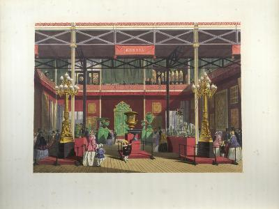 Russian Exhibition Interior During the Great Exhibition in 1851-Joseph Nash-Giclee Print