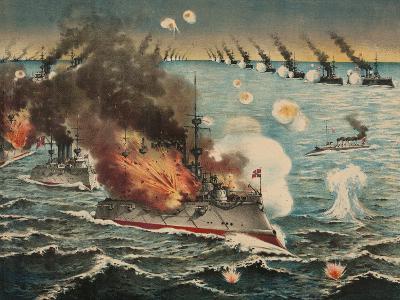 Russian Fleet Destroyed--Art Print