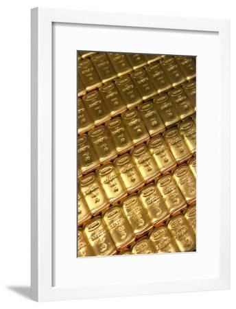 Russian Gold Bullion-Ria Novosti-Framed Photographic Print