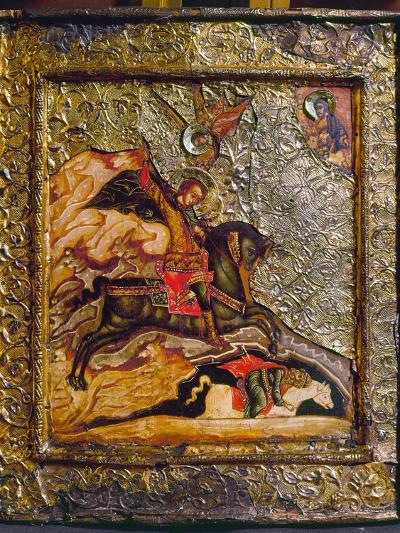 Russian Icon: Demetrius--Photographic Print
