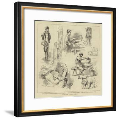 Russian Industries--Framed Giclee Print