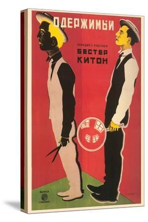 Russian Keaton Film Poster