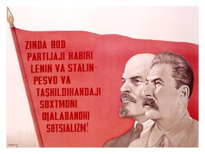 Russian Leaders--Giclee Print