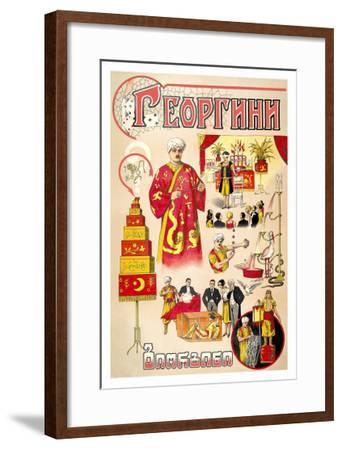 Russian Magician--Framed Art Print