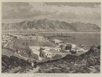 Russian Military Positions in Asia, Krasnovodsk, on the Caspian Sea-William 'Crimea' Simpson-Giclee Print