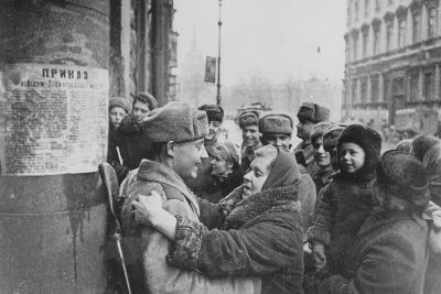 Russian Offensive, Leningrad, 27th January 1944--Photographic Print