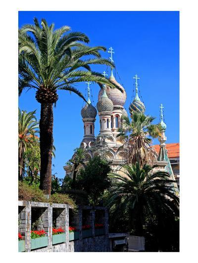 Russian Orthodox Church in San Remo, Province of Imperia, Liguria, Italy--Art Print
